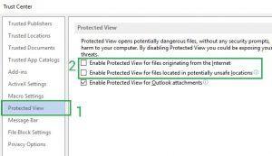 Cách mở file work excel tải về bị khóa 5