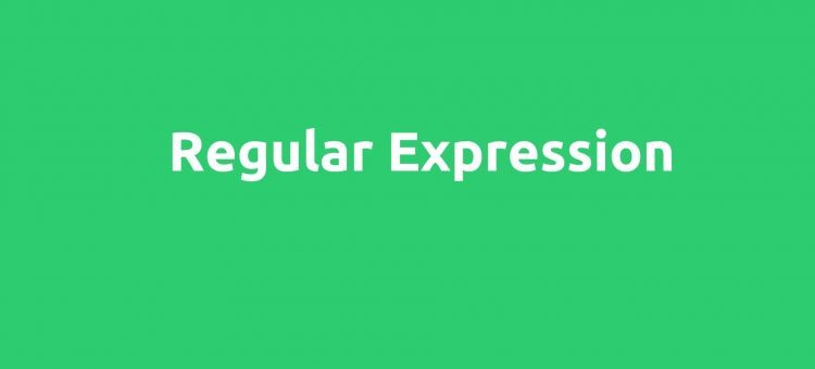 Regular Expression Basics